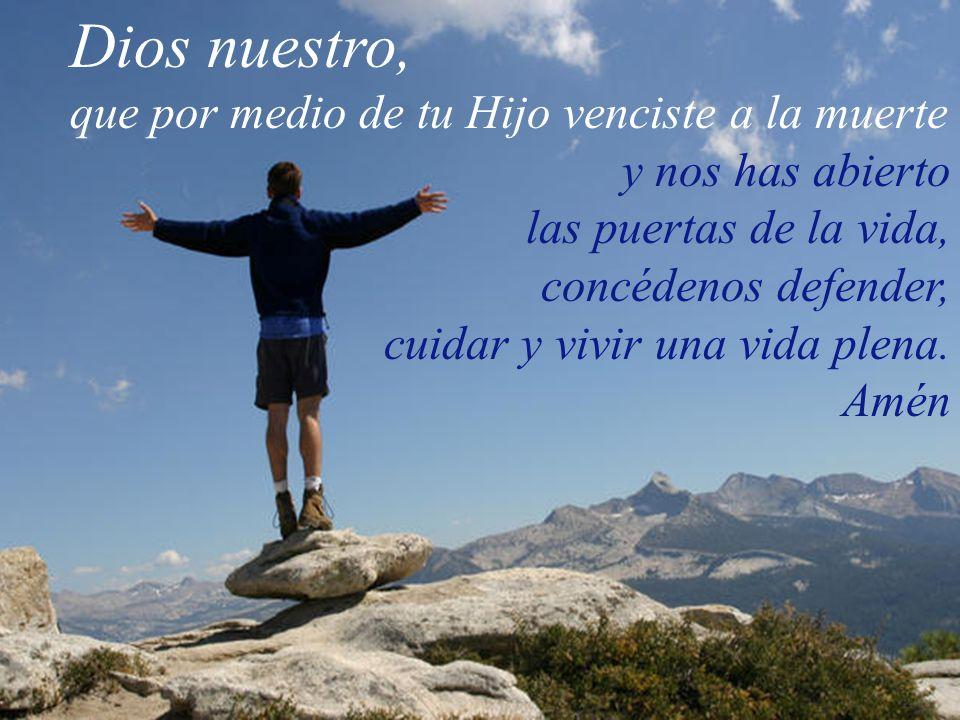 D í a d e r e s u r r e c c i ó n y d e alegría Debemos proclamar que Cristo está vivo En la Galilea humilde de nuestros hogares, en el trabajo de los