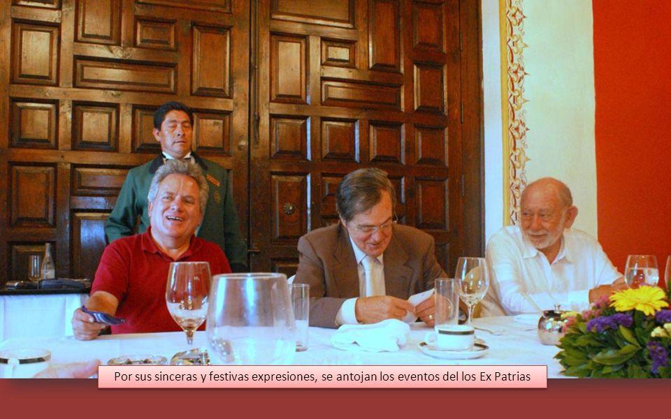 Es por estos ratos inolvidables que asistimos a los convivios de los Ex del INSTITUTO PATRIA