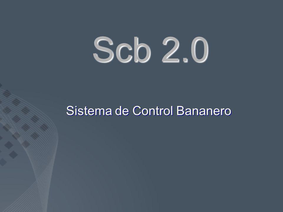 Scb 2.0 Sistema de Control Bananero