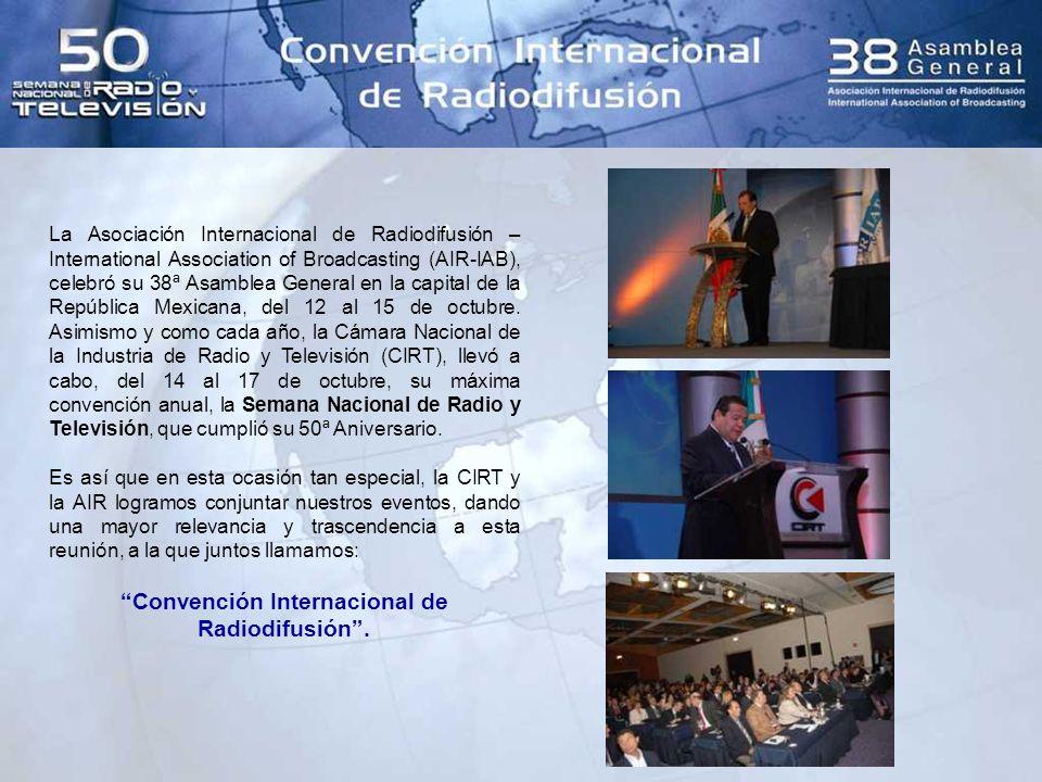 Teniendo como sede el Hotel Camino Real Ciudad de México, a lo largo de esta semana tan importante, se realizaron los trabajos de esta inédita Convención, dentro de los cuales tuvimos el honor de contar con la participación del C.