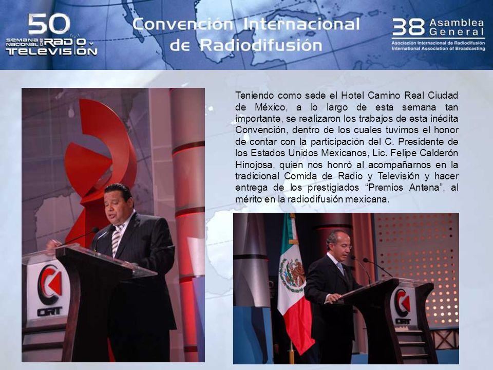 Dentro de las distintas actividades, participaron distinguidas autoridades del Gobierno Federal, como el Secretario de Gobernación, Lic.