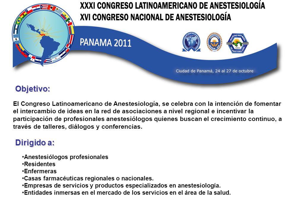 Beneficios como Patrocinador: Contacte a mas de 500 profesionales de las más importantes instituciones a nivel centroamericano.