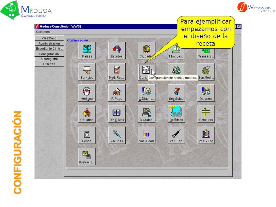 Estos botones son comunes en las pantallas, y ya fueron descritos en la sección anterior CONFIGURACIÓN