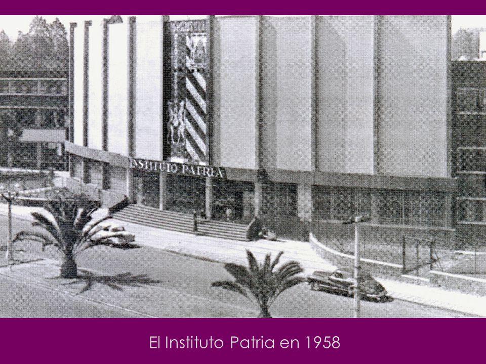 El Instituto Patria en 1958