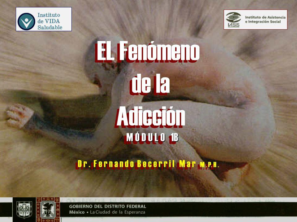 Ritmos Vitales y Adicción DR.FERNANDO BECERRIL MAR M.
