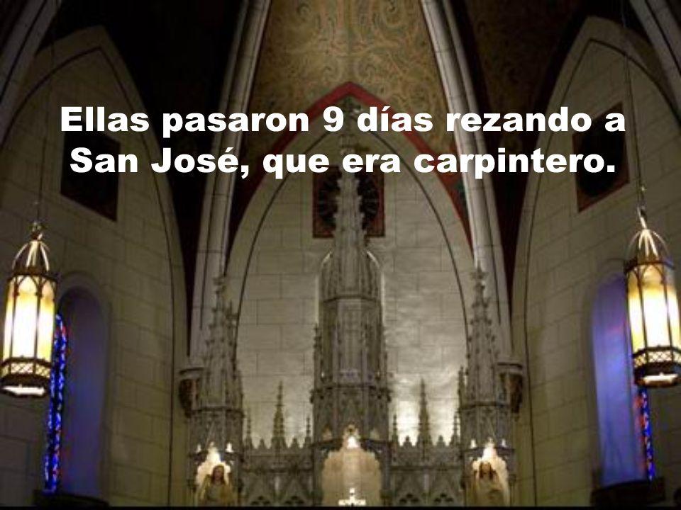 La capilla fué construida a finales del Siglo 19. Cuando estuvo terminada, las monjas vieron que hacía falta una escalera que les permitiera el acceso