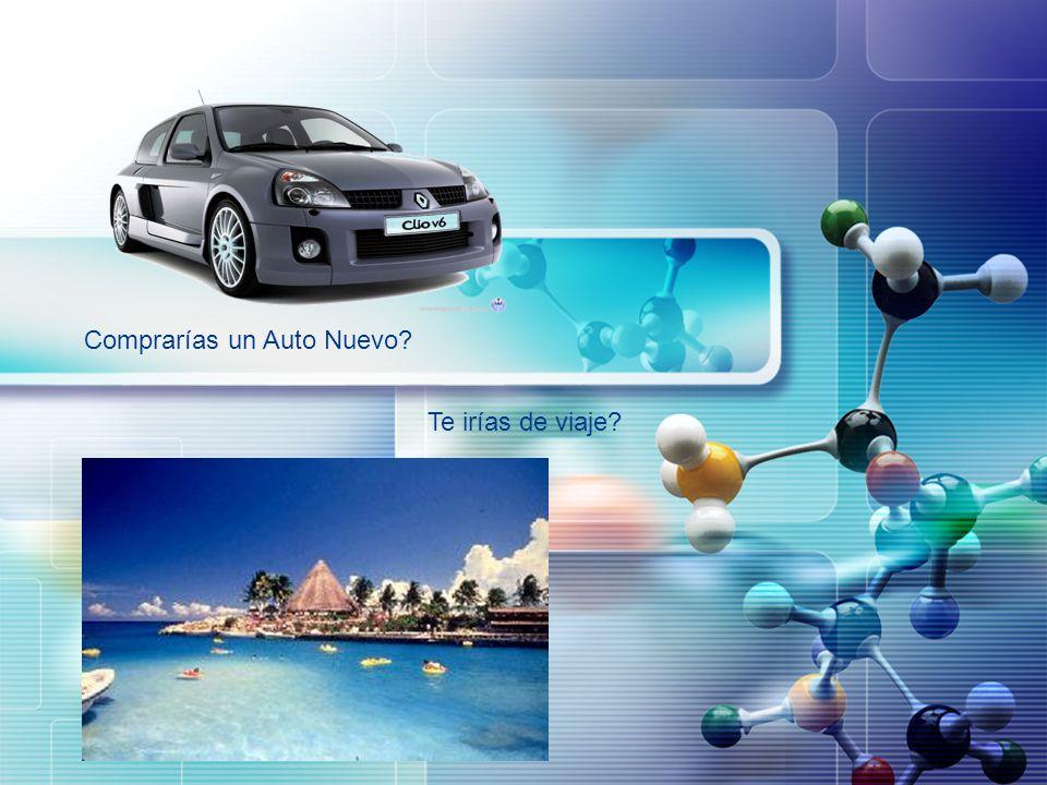 LOGO Comprarías un Auto Nuevo? Te irías de viaje?