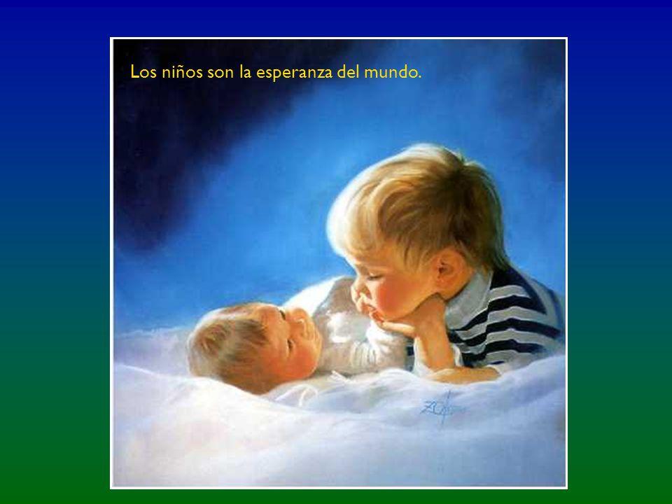 En cada niño nace la humanidad.