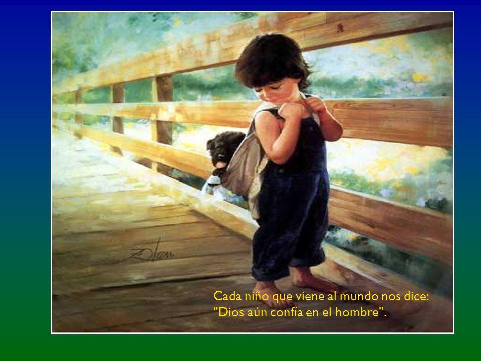 Es importante cuidar la infancia, porque los niños son el futuro de nuestro mundo.