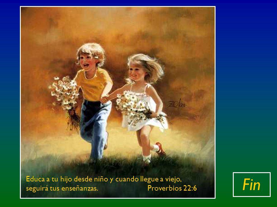 Y dijo también : «Dejad que los niños se acerquen a mí: no se lo impidáis; de los que son como ellos es el Reino de los cielos.» Y llamando Jesús a un