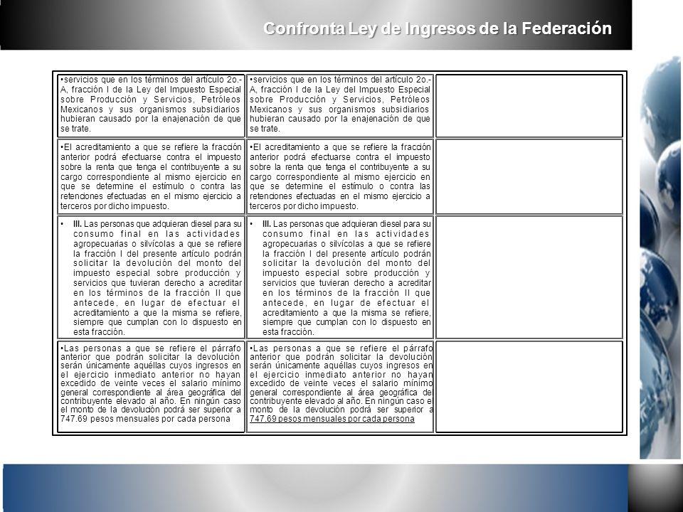 servicios que en los términos del artículo 2o.- A, fracción I de la Ley del Impuesto Especial sobre Producción y Servicios, Petróleos Mexicanos y sus