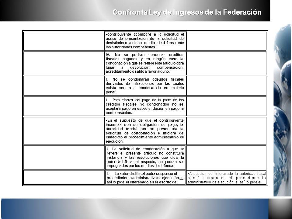 contribuyente acompañe a la solicitud el acuse de presentación de la solicitud de desistimiento a dichos medios de defensa ante las autoridades compet