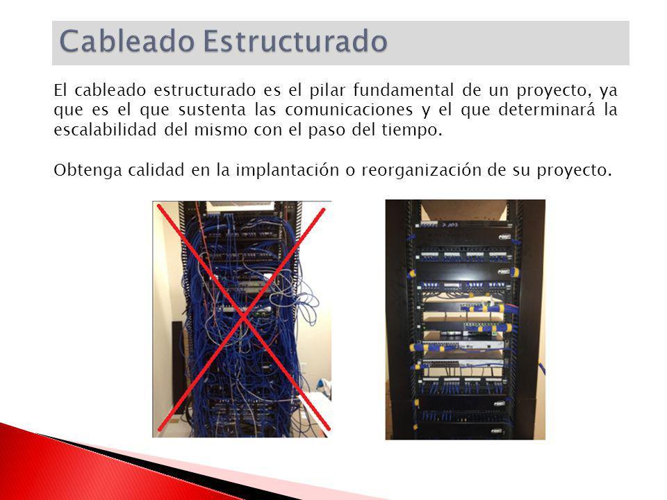 El cableado estructurado es el pilar fundamental de un proyecto, ya que es el que sustenta las comunicaciones y el que determinará la escalabilidad de
