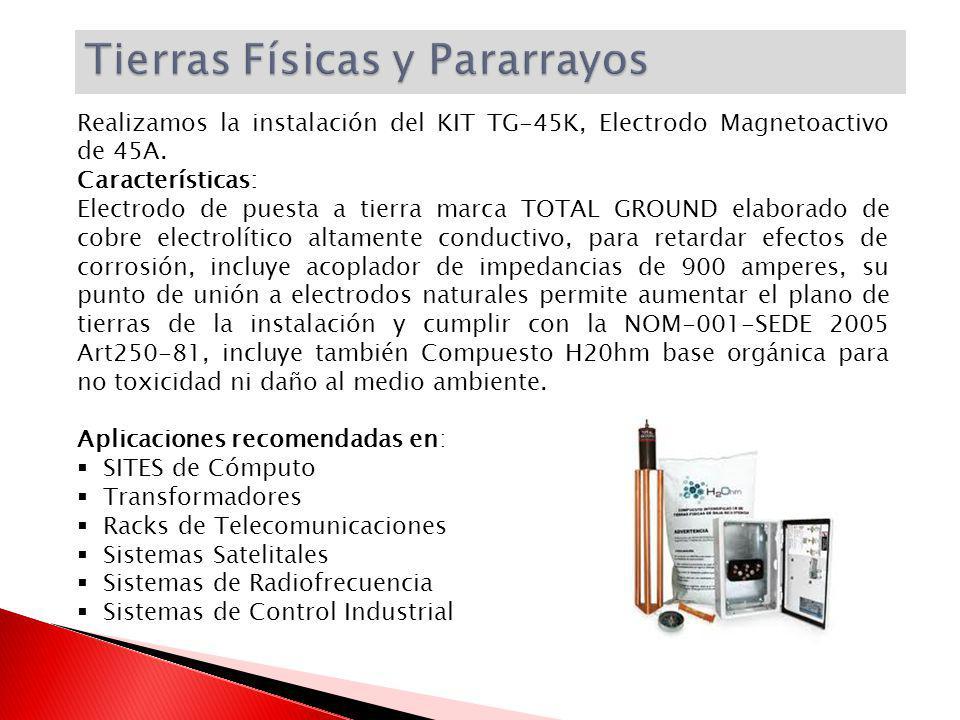 Realizamos la instalación del KIT TG-45K, Electrodo Magnetoactivo de 45A.