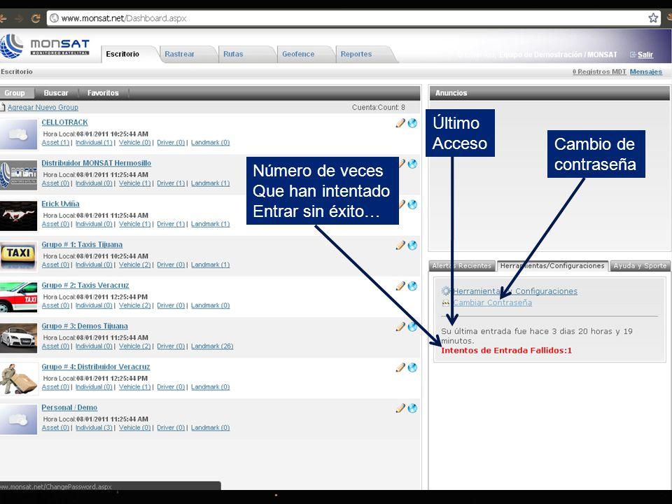 Ingresar Usuario y Contraseña Liga de acceso: www.monsat.net inicio