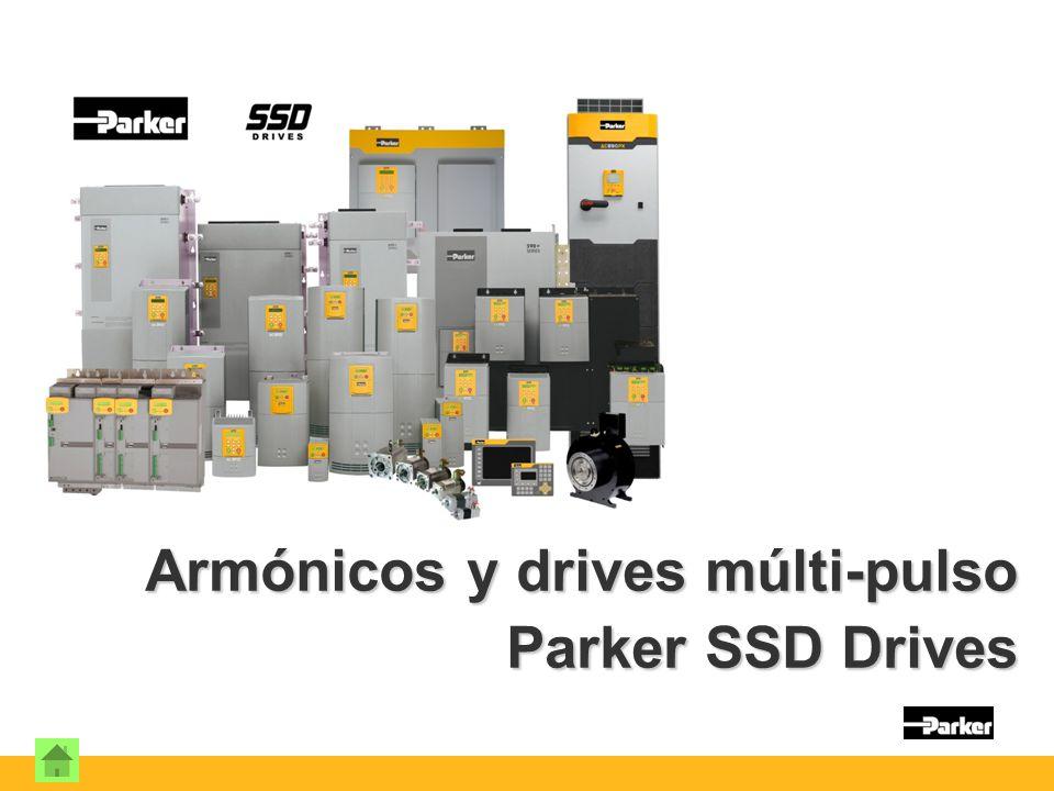 Armónicos y drives múlti-pulso Parker SSD Drives