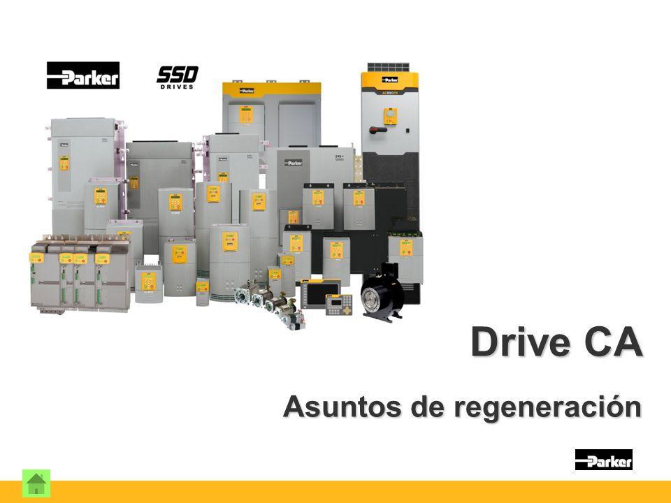 Drive CA Asuntos de regeneración