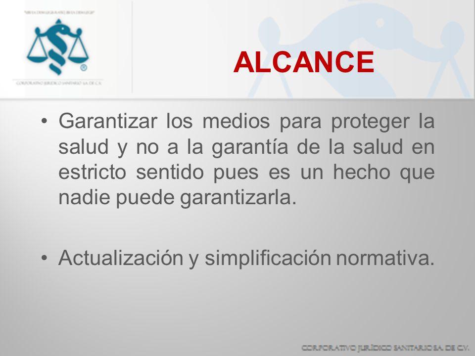 COMPETENCIA FEDERAL Dictar las normas oficiales mexicanas a que quedará sujeta la prestación, en todo el territorio nacional, de servicios de salud en las materias de salubridad general y verificar su cumplimiento.