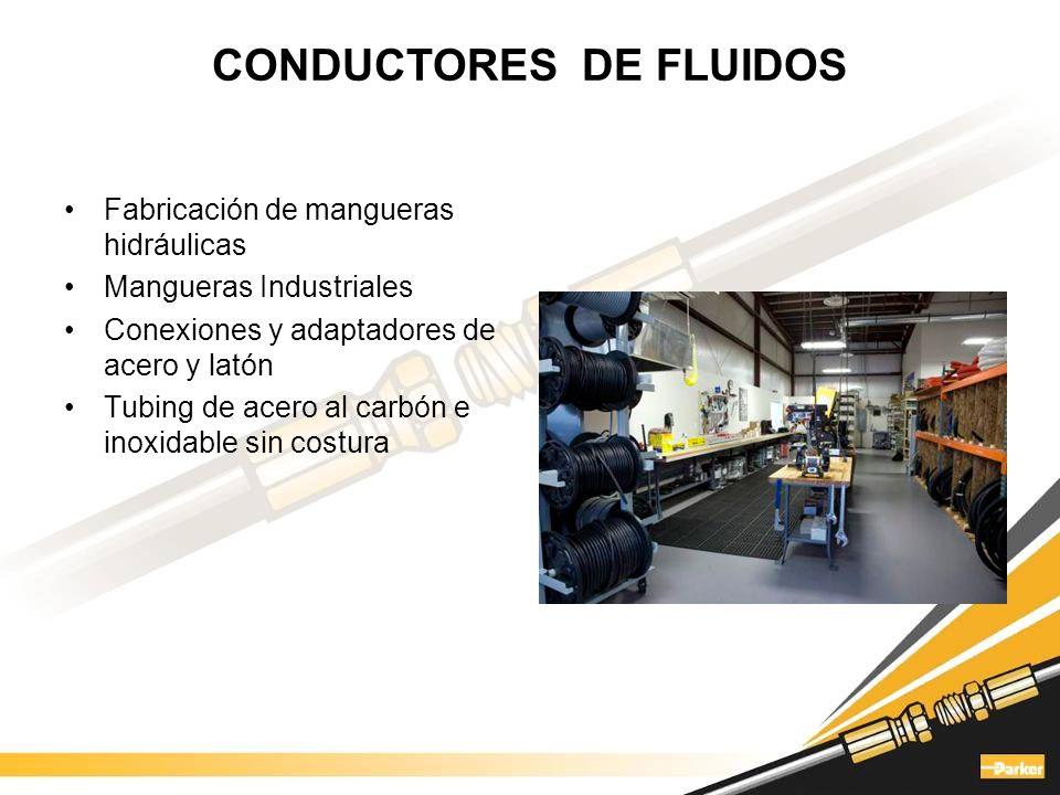 HIDRÁULICA Cilindros Unidades de potencia Bombas de engranes, de pistones y de paletas Motores hidráulicos Válvulas direccionales Sensores Electrohidráulica Filtración Acumuladores Análisis de fluidos Mangueras y conexiones