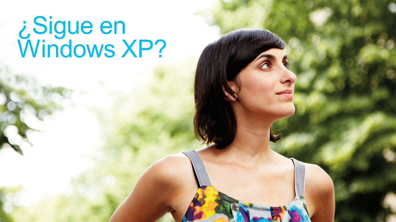 ¿Sigue en Windows XP