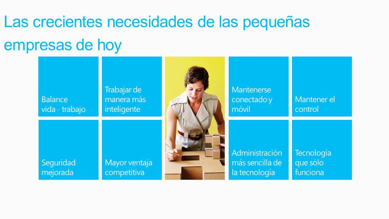 Windows 8 Pro es la edición correcta para las pequeñas empresas Al comprar Windows 8 seleccione la edición Windows 8 Pro para las empresas