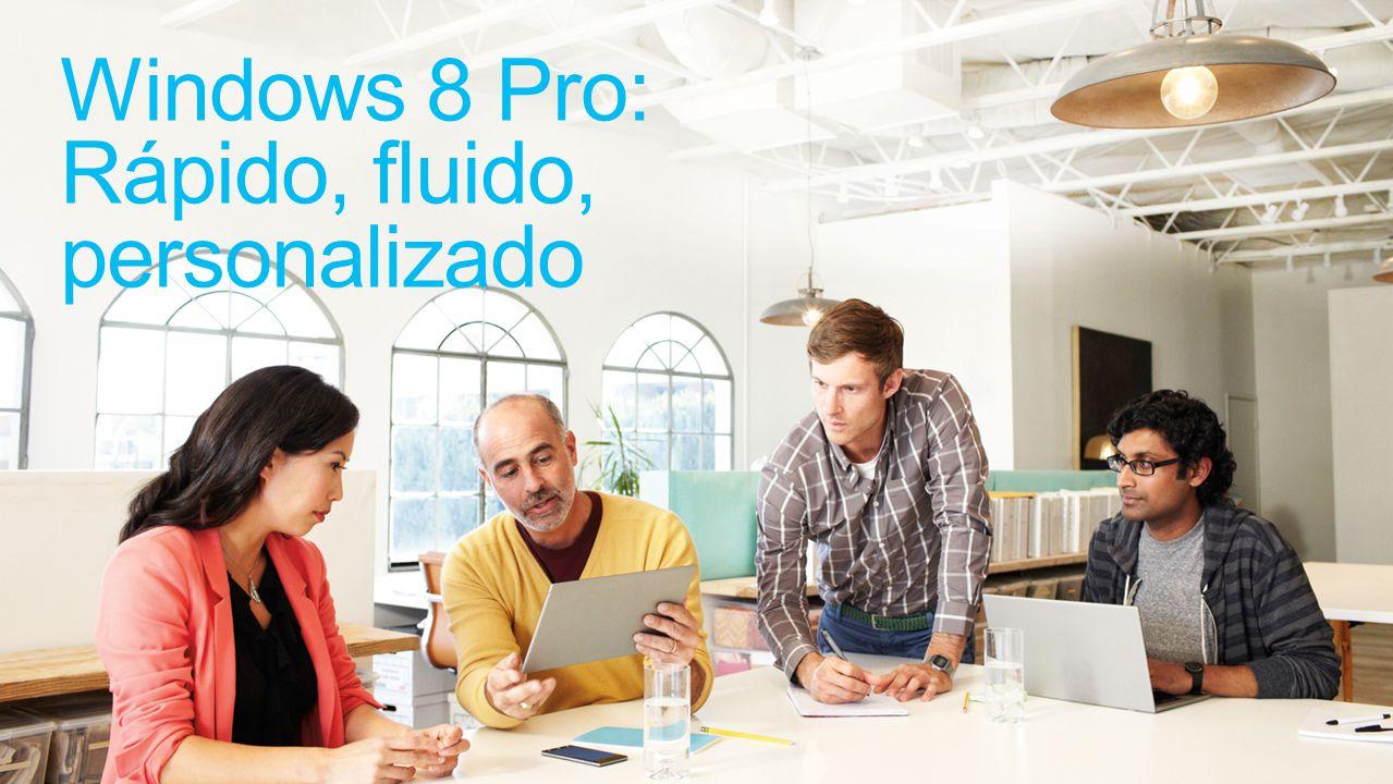 Haga todo Con Windows 8 Pro, usted no tiene que sacrificar el rendimiento, la seguridad, o la flexibilidad.