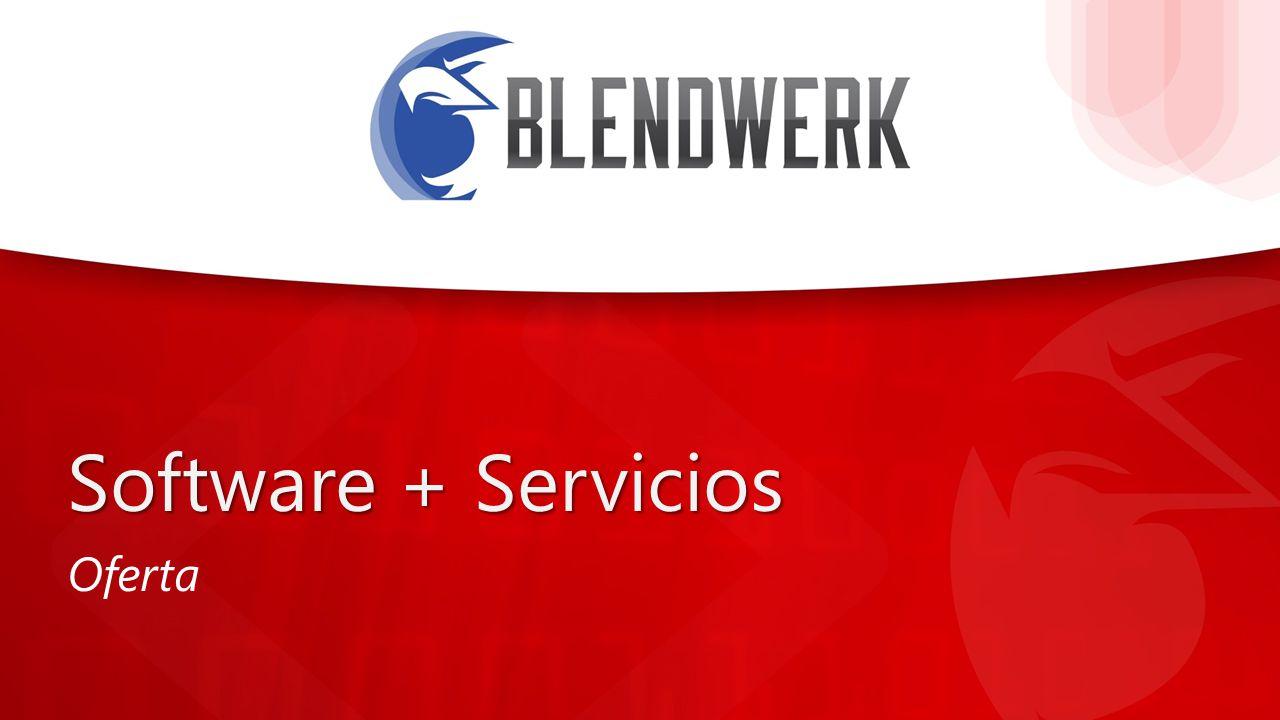 Haga clic para modificar el Nombre del autor Puesto del autor Software + Servicios Oferta
