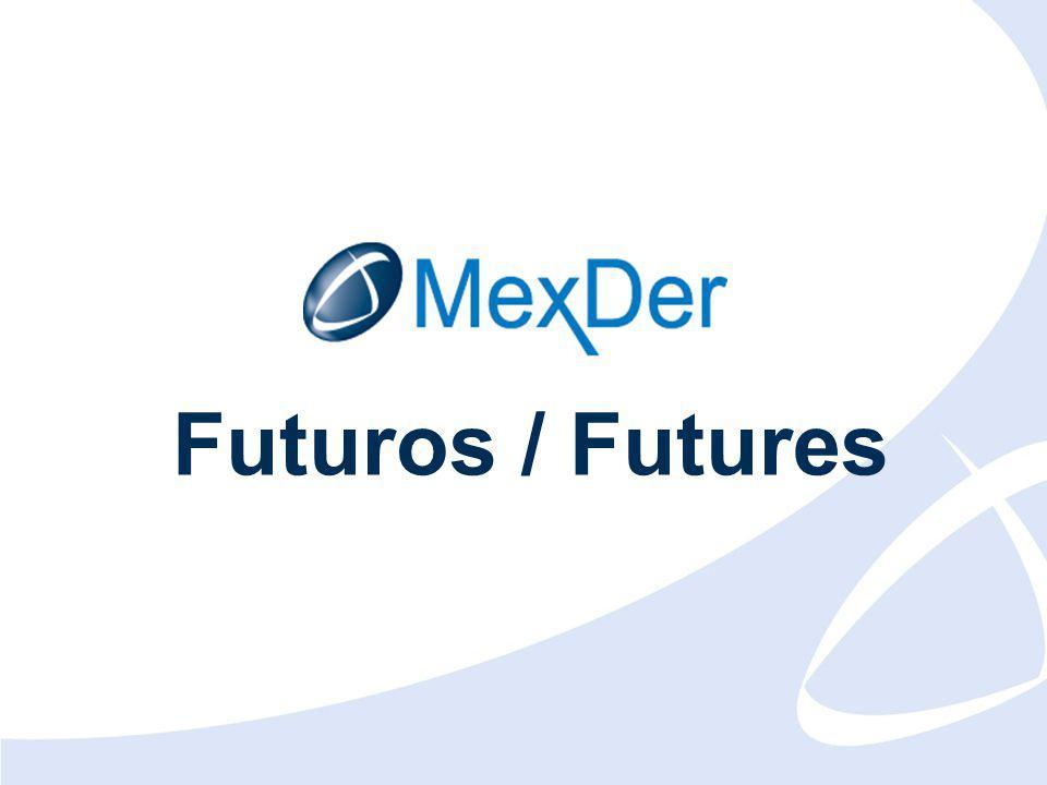 Mayo 2009 May 2009 11 ESTADÍSTICAS DE MERCADO / MARKET STATISTICS Futuros Financieros / Financial Futures