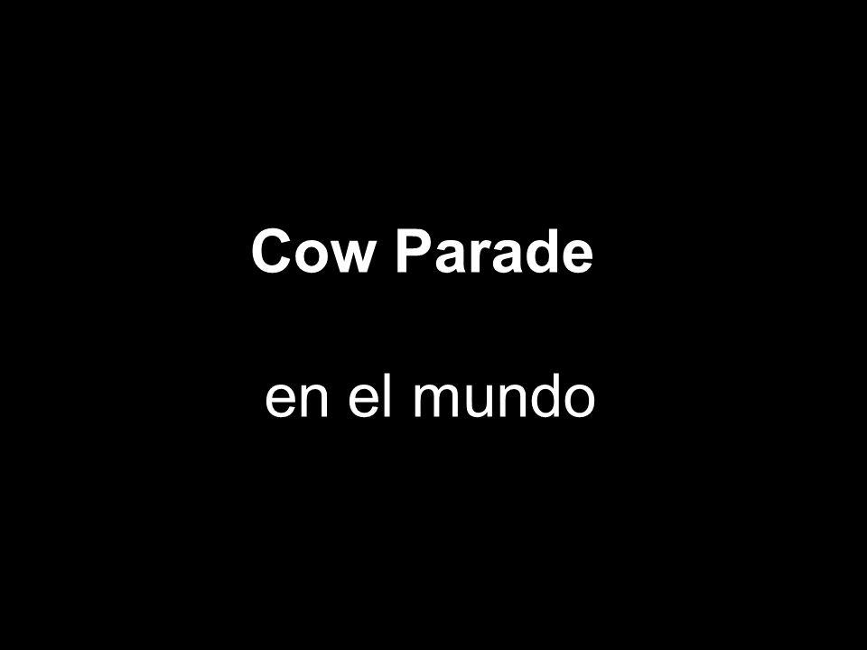 Cow Parade en el mundo