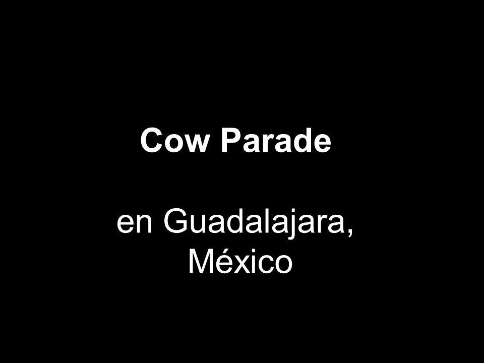 Cow Parade en Guadalajara, México