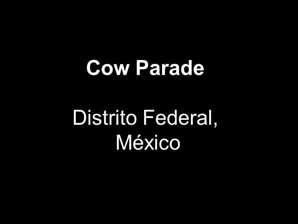 Cow Parade Distrito Federal, México