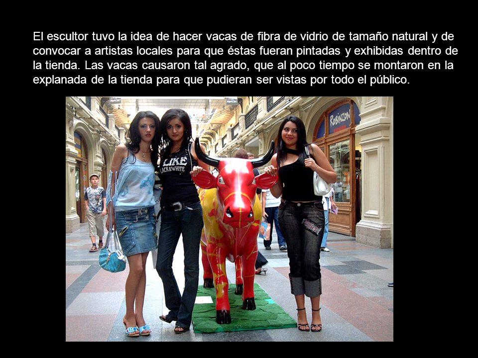Con este proyecto como base, pronto la ciudad se llenó de vacas hechas por vecinos que querían ser parte de la exposición.