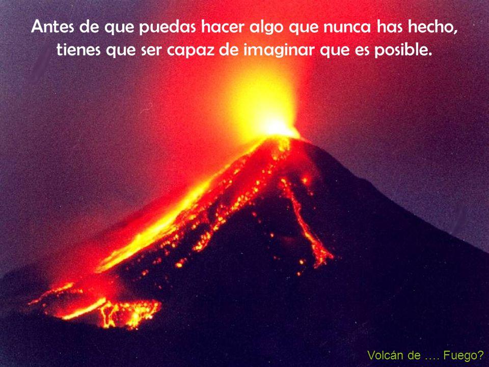 Volcán de ….Fuego.