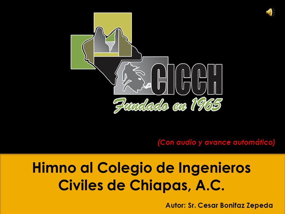 Autor: Sr. Cesar Bonifaz Zepeda (Con audio y avance automático)