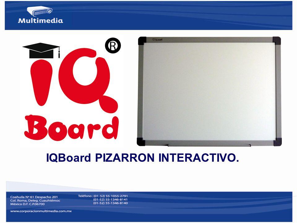 PIZARRÓN INTERACTIVO IQBOARD PS & ET Requerimientos del sistema Windows XP/2003/Vista.