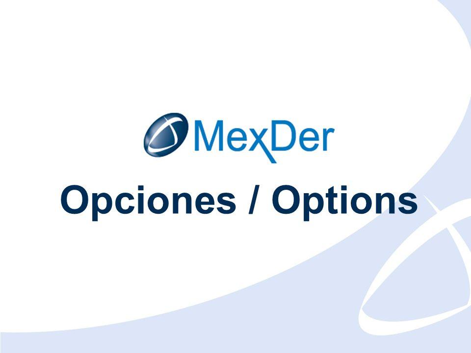 Diciembre 2010 December 2010 Opciones / Options