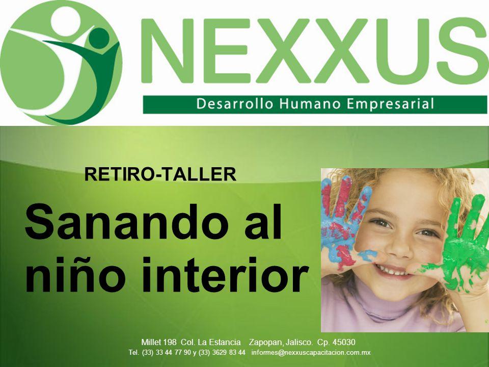 RETIRO-TALLER Sanando al niño interior Millet 198 Col.