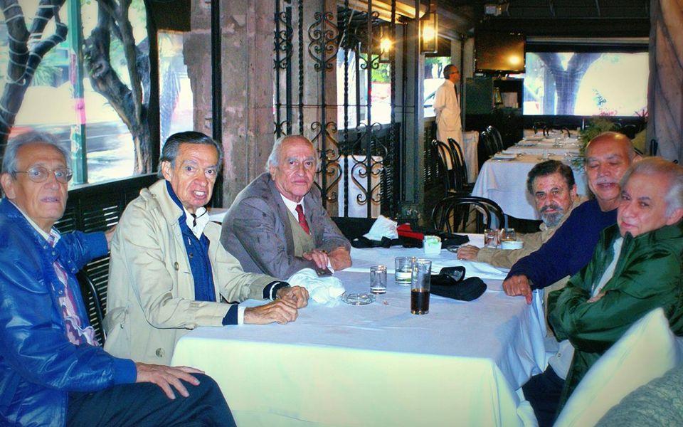 Asistieron: César Cicerón Grobet, Guillermo Alducin 58, Jacobo Pérez Verdía, Jorge Milanés García, Jorge Ordóñez, José Luis Rodríguez Ezeta 55, Luis Z