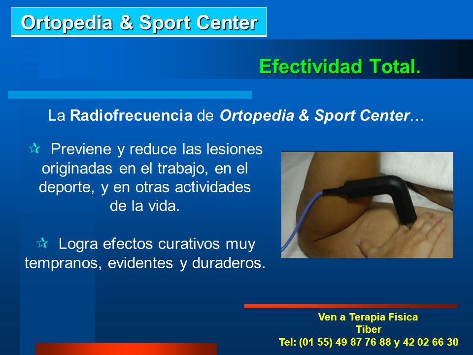 Ven a Terapia Física Roma Tel: (01 55) 55 84 09 38 y 42 02 66 30 La Radiofrecuencia ayuda en… Dolor de Cuello. Lumbalgia. Ciática. Desviaciones anorma