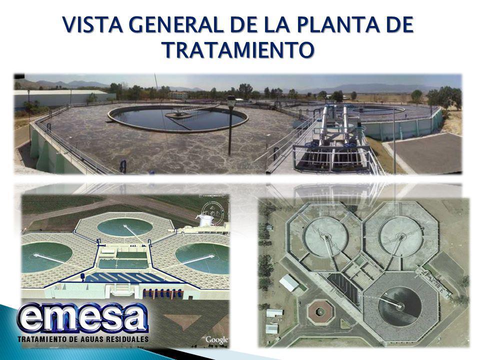 VISTA GENERAL DE LA PLANTA DE TRATAMIENTO