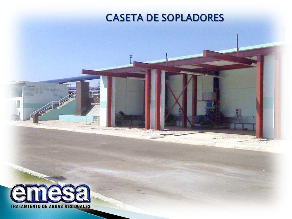 CASETA DE SOPLADORES