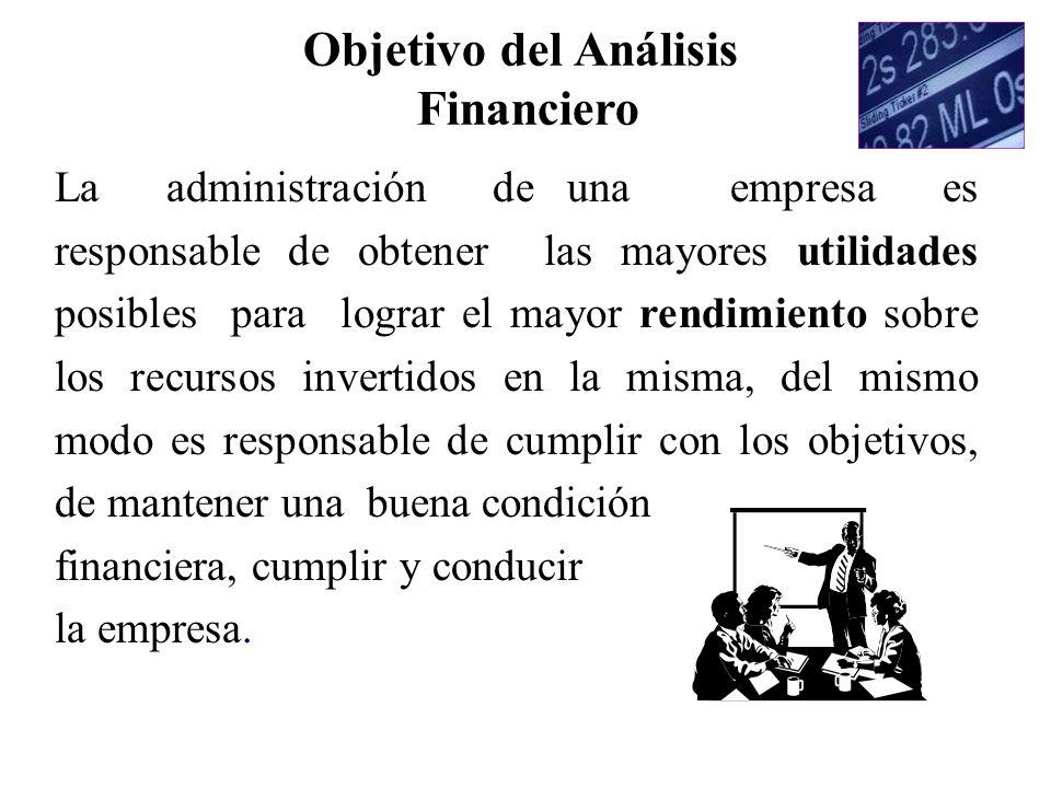Razones Financieras Rentabilidad Rendimiento del Activo Total : U.Neta + (Gastos Financ.