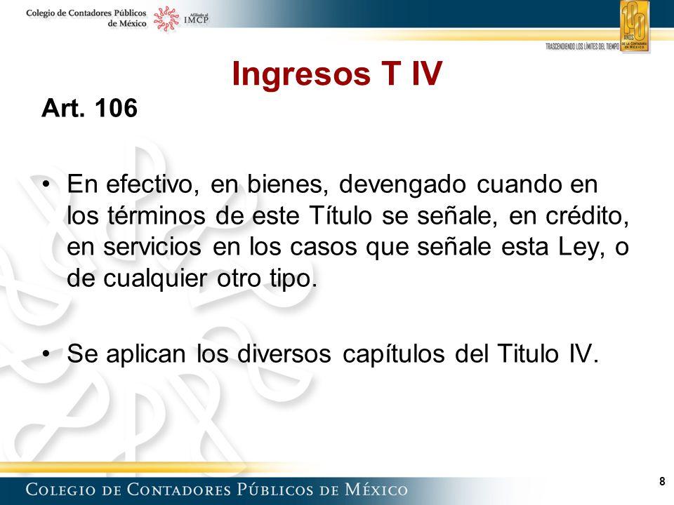 8 Ingresos T IV Art.