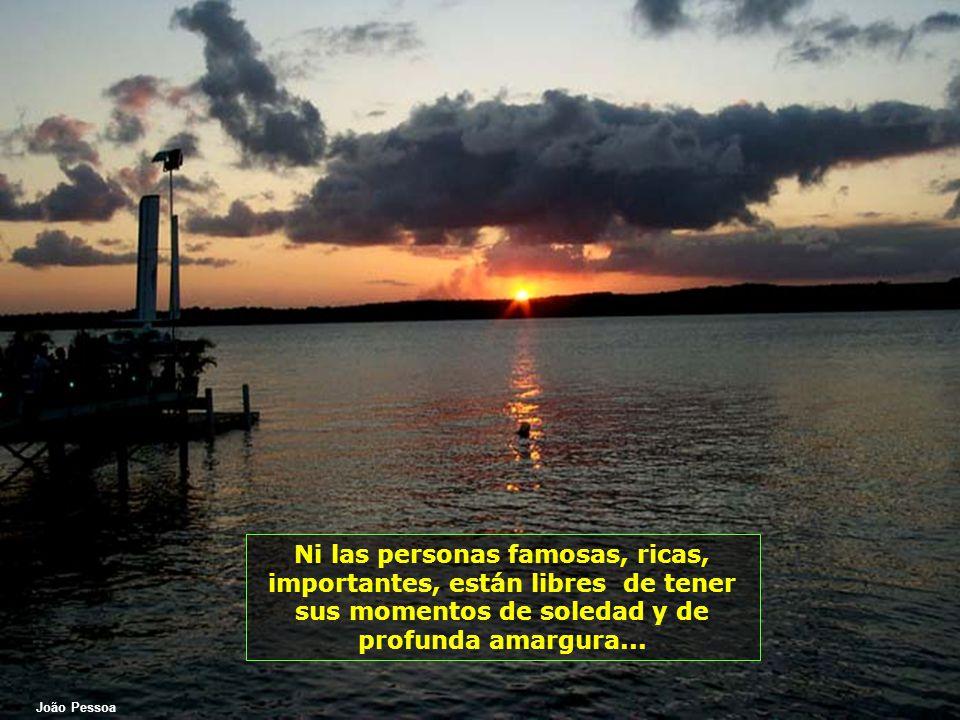 Rio Piracicaba ¿Quién todavía no se sintió sólo, extremadamente sólo, y tuvo la sensación de haber perdido la dirección de la esperanza