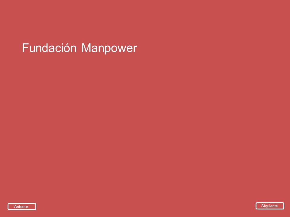 Fundación Manpower Siguiente Anterior
