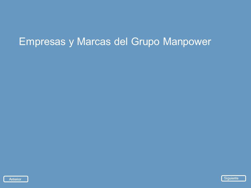 Empresas y Marcas del Grupo Manpower Anterior Siguiente