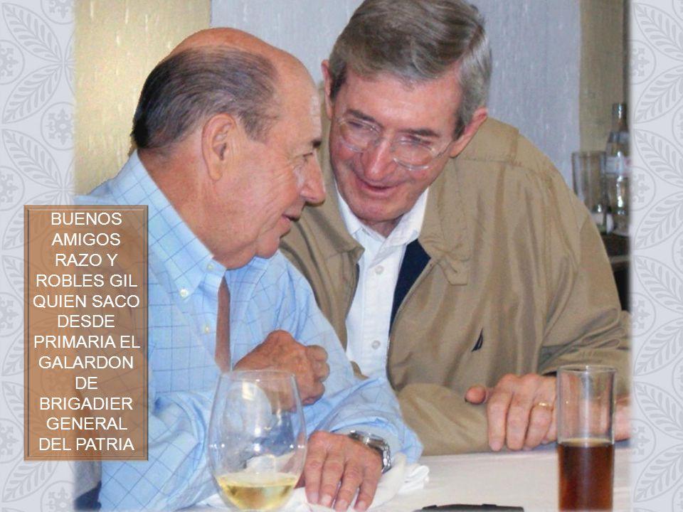 RAUL HARO HACE GALA DE SU PRESENCIA; A SU DERECHA LUNAPARRA