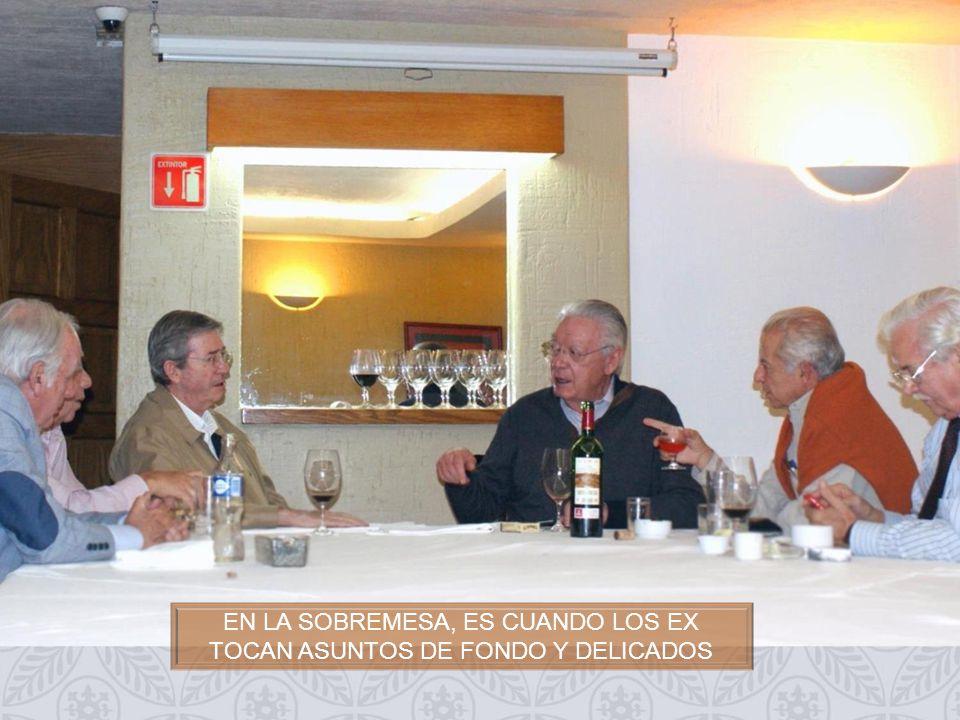ASISTIERON (ALFABETICO): AGUSTÍN GARCÍA GARIBAY, ALFREDO BALLÍ, DANIEL RODRÍGUEZ, EDUARDO BONILLA, ERNESTO MARISCAL, FRANCISCO MANZANO, GUILLERMO ALDUCIN, IGNACIO GÓMEZ DAZA, JAIME ROBLES GIL, JOSÉ ORTEGA, LUIS MARTÍNEZ ARGÙELLO, LUIS RAZO, MARIO FERNÁNDEZ, MIGUEL LUNA PARRA Y RAÚL HARO