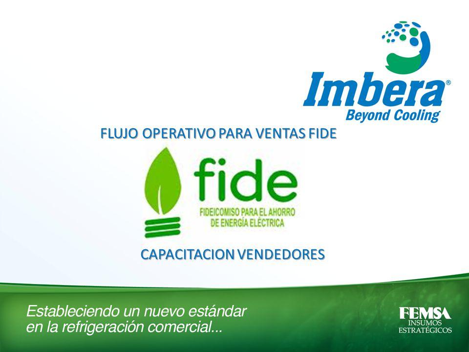 FLUJO OPERATIVO PARA VENTAS FIDE CAPACITACION VENDEDORES