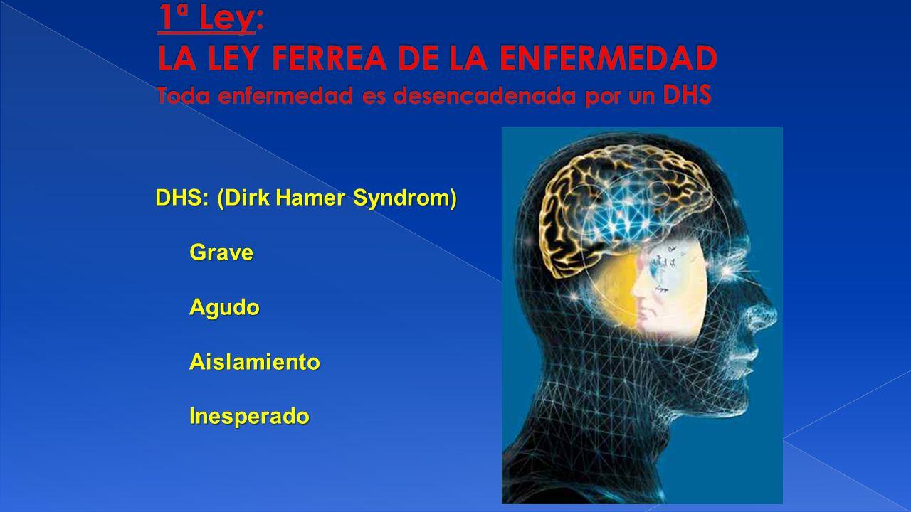 DHS: (Dirk Hamer Syndrom) GraveAgudoAislamientoInesperado